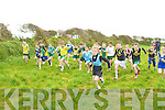 MARK: On their marks were the boys under 10 as they get going in the 200 relay races at the Cross Country in Ardfert on Sunday...