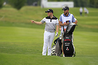 Nathan Kimsey (ENG) on the 5th fairway during Round 1 of the D+D Real Czech Masters at the Albatross Golf Resort, Prague, Czech Rep. 31/08/2017<br /> Picture: Golffile | Thos Caffrey<br /> <br /> <br /> All photo usage must carry mandatory copyright credit     (&copy; Golffile | Thos Caffrey)