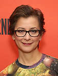 Anna D. Shaprio attends photo call for the Second Stage Theatre Company production of 'Straight White Men'  at Sardi's on June 14 30, 2018 in New York City.