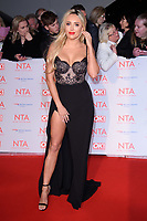 Amber Turner<br /> arriving for the National Television Awards 2018 at the O2 Arena, Greenwich, London<br /> <br /> <br /> ©Ash Knotek  D3371  23/01/2018