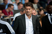 Sun 25 August 2013<br /> <br /> Pictured: Michael Laudrup, Manager of Swansea City<br /> <br /> Re: Barclays Premier League Tottenham Hotspur FC  v Swansea City FC  at White Heart Lane, Tottenham, London