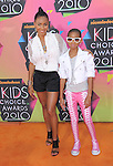 Jada Pinkett-Smith & Willow Smith at Nickelodeon's 23rd Annual Kids' Choice Awards held at Pauley Pavilion in Westwood, California on March 27,2010                                                                                      Copyright 2010 © DVS / RockinExposures