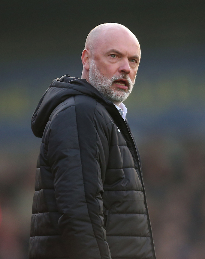 Fleetwood Town manager Uwe Rosler <br /> <br /> Photographer Rob Newell/CameraSport<br /> <br /> The EFL Sky Bet League One - AFC Wimbledon v Fleetwood Town - Saturday 26th November 2016 - The Cherry Red Records Stadium - London<br /> <br /> World Copyright &copy; 2016 CameraSport. All rights reserved. 43 Linden Ave. Countesthorpe. Leicester. England. LE8 5PG - Tel: +44 (0) 116 277 4147 - admin@camerasport.com - www.camerasport.com