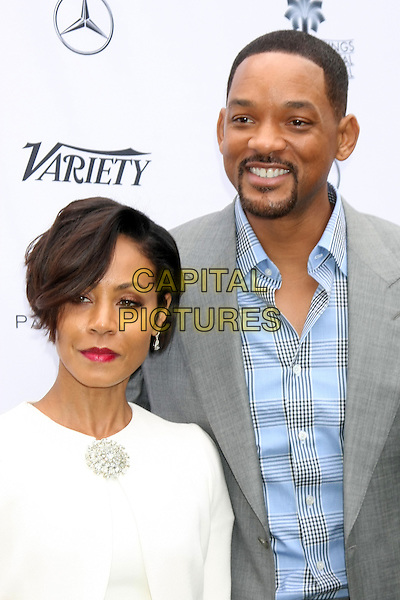 PALM SPRINGS - JANUARY 3: Jada Pinkett Smith, Will Smith at the Variety Creative Impact Awards And 10 Directors To Watch Brunch at the The Parker Hotel on January 3, 2016 in Palm Springs, California. <br /> CAP/MPI/DE<br /> &copy;DE//MPI/Capital Pictures