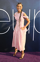 "04 June 2019 - Hollywood, California - Storm Reid.  HBO ""Euphoria"" Los Angeles Premiere held at the Cinerama Dome. Photo Credit: Faye Sadou/AdMedia"