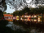 NIGHT MARKET FRONT RIVER AT SIEM REAP