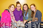 Pictured at the KDYS Youth Day Quiz on Sunday were l-r: Helen Hehir Freya Casey Louise Casey Grace Keane Loughran (Ballyheigue Youth Club).