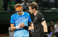 ANDY MURRAY (GBR), DENIS ISTOMIN (UZB)<br /> <br /> MIAMI OPEN, CRANDON PARK, KEY BISCAYNE, MIAMI, FLORIDA, USA<br /> <br /> &copy; AMN IMAGES