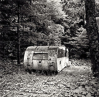 Abandoned mobile home<br />