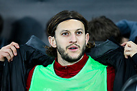 Adam Lallana of Liverpool ahead of the Premier League match between Swansea City and Liverpool at the Liberty Stadium, Swansea, Wales on 22 January 2018. Photo by Mark Hawkins / PRiME Media Images.