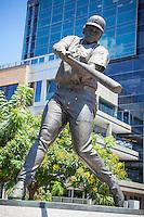 Sculpture of Padres Baseball Player Tony Gwynn