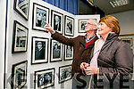 James and Kathleen O'Loughlin enjoying pictures at official opening of the the the Faces of Fenit exhibition at the Kerry County Library Tralee on Tuesday