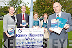 BUSINESS WEEK: Kerry County Enterprise Board staff putting the finishing touches to Business Week which runs in Kerry from October 5th, l-r: Fiona Leahy, Victor Sheehan, Josephine Guilfoyle, Deirdre Moynihan, Toma?s Hayes (Chief Executive Officer).
