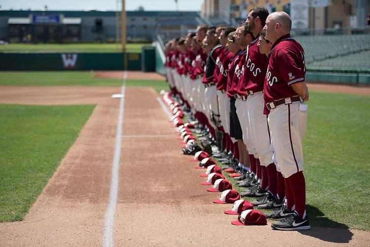 May 23, 2014; Stockton, CA, USA; Santa Clara Broncos during the WCC Baseball Championship at Banner Island Ballpark.