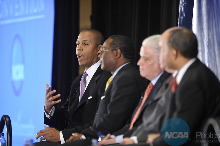 14 JAN 2009: The NCAA Educational Session: Communicating Academic Success during the 2009 NCAA Convention at the Gaylord National Resort and Convention Center in Washington D.C. Pictured: Damon Evans. Stephen Nowland/NCAA Photos