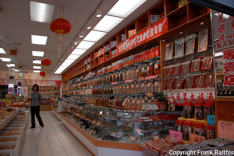 Interior of shop in Chinatown