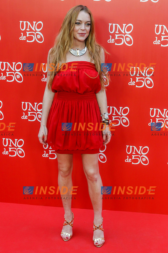 Lindsay Lohan <br /> 20th Anniversary Fete Saldana Palace - Madrid - 06/09/2016 <br /> Foto Walter Kovacsc / Panoramic / Insidefoto