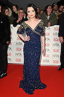 Shona McGarty<br /> at the National TV Awards 2017 held at the O2 Arena, Greenwich, London.<br /> <br /> <br /> ©Ash Knotek  D3221  25/01/2017