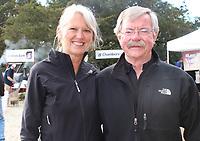 NWA Democrat-Gazette/CARIN SCHOPPMEYER Lynette and Jim Terrell enjoy the Bar & Grill.