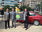 9/22/14 Zipcar breakfast, media event and ribbon cutting at Hotel Indigo in downtown Dallas.