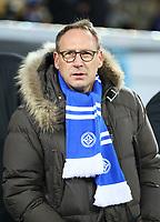 Präsident Rüdiger Fritsch (SV Darmstadt 98) - 21.02.2018: SV Darmstadt 98 vs. 1. FC Kaiserslautern, Stadion am Boellenfalltor, 2. Bundesliga