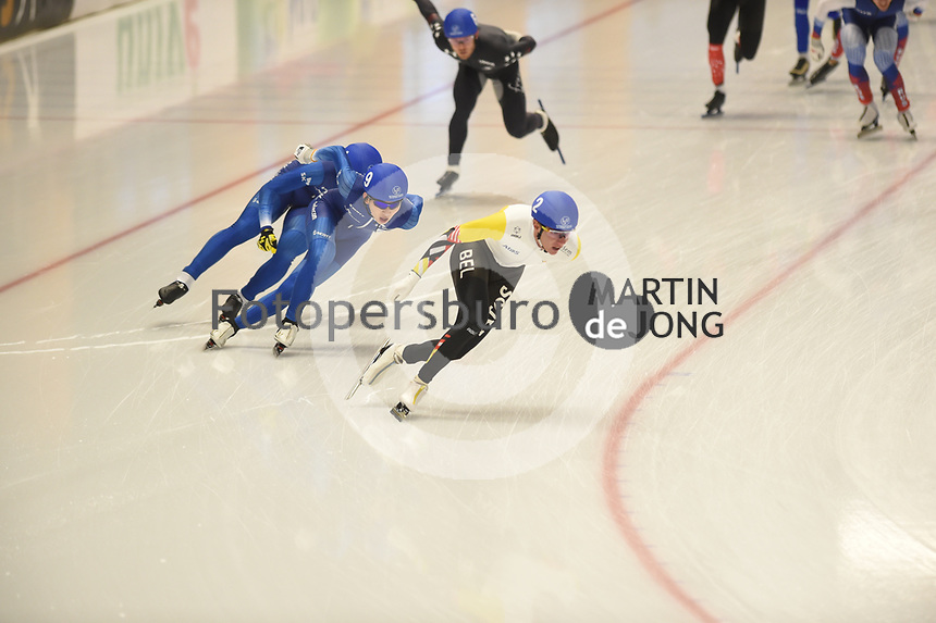 SPEEDSKATING: INZELL: Max Aicher Arena, 10-02-2019, ISU World Single Distances Speed Skating Championships, Mass Start Men, Bart Swings (BEL), ©photo Martin de Jong