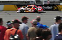 May 2, 2008; Richmond, VA, USA; NASCAR Sprint Cup Series driver Regan Smith during practice for the Dan Lowry 400 at the Richmond International Raceway. Mandatory Credit: Mark J. Rebilas-