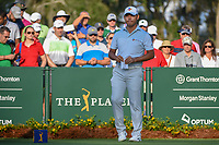 Si Woo Kim (KOR) looks over his tee shot on 10 during round 1 of The Players Championship, TPC Sawgrass, at Ponte Vedra, Florida, USA. 5/10/2018.<br /> Picture: Golffile | Ken Murray<br /> <br /> <br /> All photo usage must carry mandatory copyright credit (&copy; Golffile | Ken Murray)