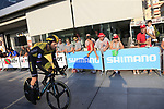 Lars Boom (NED) Team LottoNL-Jumbo during Stage 1 of the La Vuelta 2018, an individual time trial of 8km running around Malaga city centre, Spain. 25th August 2018.<br /> Picture: Ann Clarke | Cyclefile<br /> <br /> <br /> All photos usage must carry mandatory copyright credit (© Cyclefile | Ann Clarke)