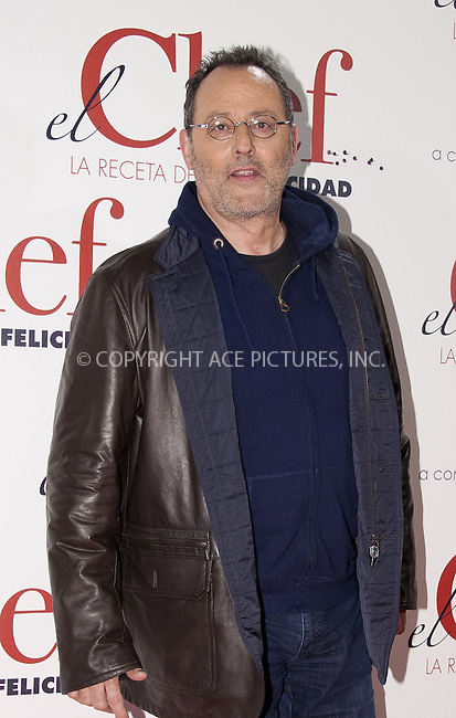 WWW.ACEPIXS.COM....US SALES ONLY....November 26 2012, Madrid....Jean Reno at the premiere of 'The Chef' on November 26, 2012 in Madrid, Spain. ....By Line: FD/ACE Pictures......ACE Pictures, Inc...tel: 646 769 0430..Email: info@acepixs.com..www.acepixs.com