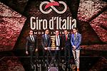 Foto LaPresse -Stefano De Grandis<br /> 29/11/2017  Milano ( italy )<br /> <br /> presentazione giro d'Italia<br /> workshop<br /> <br /> nella foto: Tom Dumoulin, Fabio Aru, Vincenzo Nibali, e Alberto Contador, Mauro Vegni<br /> <br /> <br /> <br /> <br /> Foto LaPresse -Stefano De Grandis<br /> 29/11/2017  Milano ( italy )<br /> <br /> Giro D'Italia 2018 presentation<br /> <br /> in the pic: Tom Dumoulin, Fabio Aru, Vincenzo Nibali, e Alberto Contador, Mauro Vegni