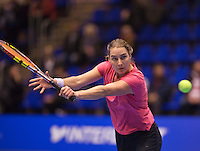 December 20, 2014, Rotterdam, Topsport Centrum, Lotto NK Tennis, Danielle Harmsen (NED)<br /> Photo: Tennisimages/Henk Koster