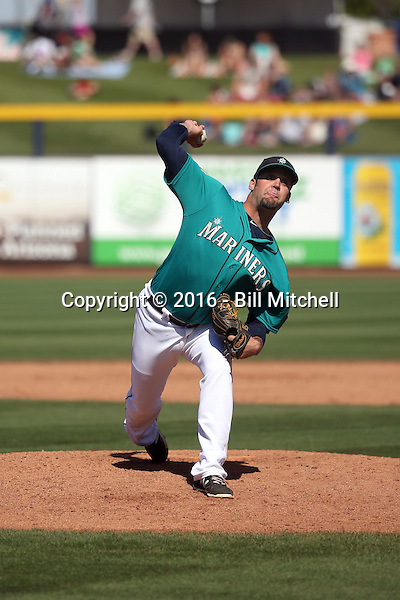 Andrew Kittredge - Seattle Mariners 2016 spring training (Bill Mitchell)