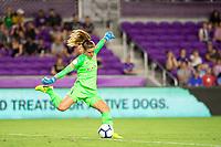Orlando, FL - Wednesday September 11, 2019: Alyssa Naeher , Orlando Pride vs  Chicago Red Stars at Exploria Stadium.