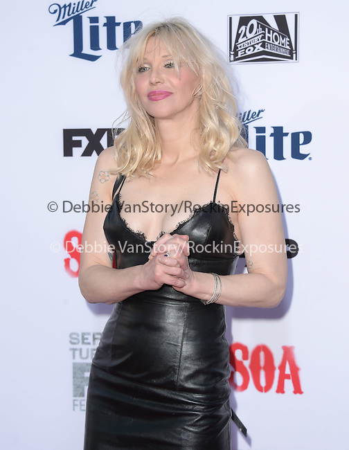 Courtney Love attends  FX's SONS OF ANARCHY Premiere Screening held at The TCL Chinese Theatre  in Hollywood, California on September 06,2014                                                                               © 2014 Hollywood Press Agency