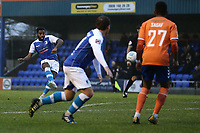 Kemy Agustien of Barrow scores the first goal for his team during Braintree Town vs Barrow, Vanarama National League Football at the IronmongeryDirect Stadium on 1st December 2018