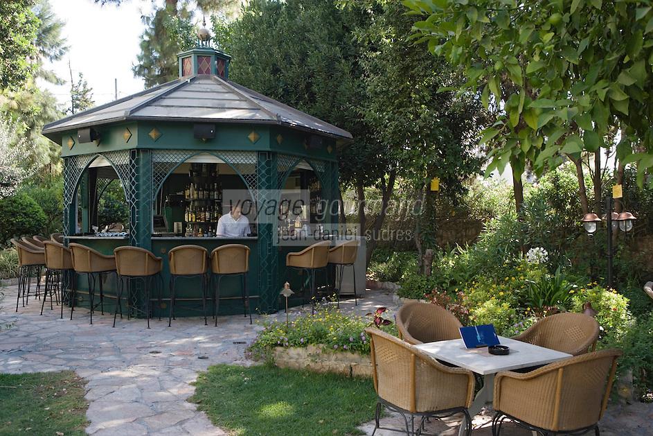 Asie/Israël/Judée/Jérusalem: Hotel American Colony - le café du jardin