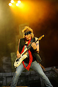 IRON MAIDEN - Adrian Smith - performing live on Day Three on the Lemmy Stage at the Download Festival at Donington Park UK - 12 Jun 2016.  Photo credit: Zaine Lewis/IconicPix