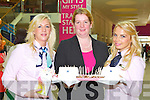 Pictured at the Manor West Retail Park 10th Anniversary Celebrations from left: Karen Walsh, Hazel Boyle and Anca Buldur.