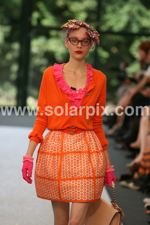 **ALL ROUND PICTURES FROM SOLARPIX.COM**.**NO UK NEWSPAPER PUBLICATION **UK MAGAZINE & SUPPLEMENT PUBLICATION ONLY** AND NO PUBLICATION IN FRANCE, SCANDINAVIA, AUSTRALIA AND GERMANY** .The Luella Bartley catwalk show at London Fashion Week..JOB REF:  7341    SFE       DATE: 15.09.08.**MUST CREDIT SOLARPIX.COM OR DOUBLE FEE WILL BE CHARGED* *UNDER NO CIRCUMSTANCES IS THIS IMAGE TO BE REPRODUCED FOR ANY ONLINE EDITION WITHOUT PRIOR PERMISSION*