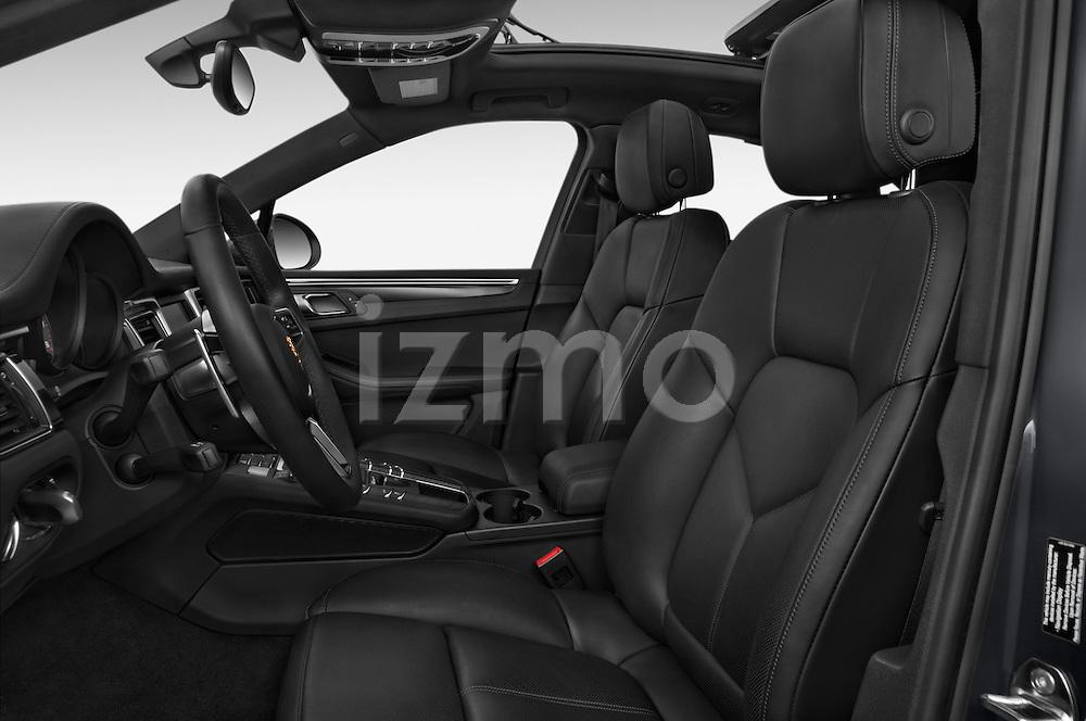 Front seat view of 2018 Porsche Macan S 5 Door SUV Front Seat car photos