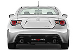 Straight rear view of a 2013 Scion FRS