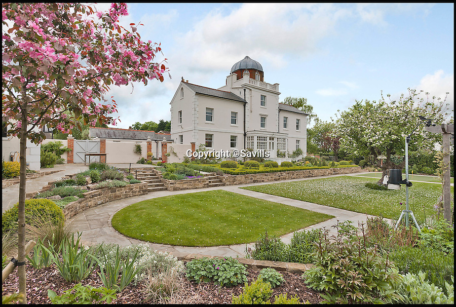 BNPS.co.uk (01202 558833)<br /> Pic: Savills/BNPS<br /> <br /> A historic house that played an important role in quickly warning Britain's Royal Navy of threats of French invasion in the days before phones and internet is up for sale.<br /> <br /> The Grade II listed Semaphore House in Guildford, Surrey, was built in 1821 as part of a vital military signalling system that enabled the Admiralty to communicate with the main channel ports in a matter of seconds rather than relying on galloping messengers on horseback.<br /> <br /> Now a five-bedroom home with 360-degree views from its pretty tower room, the landmark house is on the market with Savills with a guide price of £2.75million.