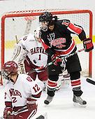 Laura Bellamy (Harvard - 1), Kristi Kehoe (NU - 34) - The Harvard University Crimson defeated the Northeastern University Huskies 1-0 to win the 2010 Beanpot on Tuesday, February 9, 2010, at the Bright Hockey Center in Cambridge, Massachusetts.