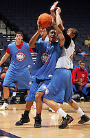 2G Walter Offutt (Indianapolis, IN / Warren Central) shoots the ball during the NBA Top 100 Camp held Friday June 22, 2007 at the John Paul Jones arena in Charlottesville, Va. (Photo/Andrew Shurtleff)