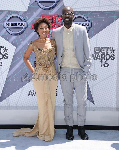 26 June 2016 - Los Angeles. Black Coffee. Arrivals for the 2016 BET Awards held at the Microsoft Theater. Photo Credit: Birdie Thompson/AdMedia