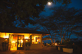 TANZANIA, Hatari Lodge at Night in Arusha National Park