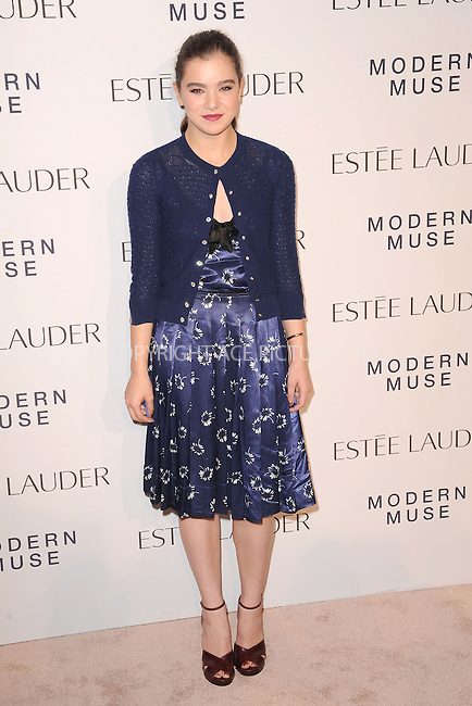 WWW.ACEPIXS.COM<br /> September 12, 2013...New York City<br /> <br /> Hailee Steinfeld attending Estee Lauder 'Modern Muse' Fragrance Launch Party at the Guggenheim Museum on September 12, 2013 in New York City.<br /> <br /> Please byline: Kristin Callahan/Ace Pictures<br /> <br /> Ace Pictures, Inc: ..tel: (212) 243 8787 or (646) 769 0430..e-mail: info@acepixs.com..web: http://www.acepixs.com