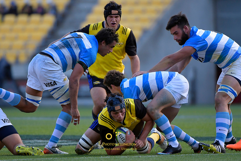 U20 Rugby - Hurricanes v Argentina at Westpac Stadium, Wellington, New Zealand on Saturday 18 March 2017.<br />