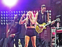Ellie Goulding brings thousands of attendees to the Coachella Stage on Friday, April 18th.